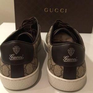 72f349ad43a Gucci Shoes - 🔥New Biege Cocoa Gucci Tessuto GG Supreme web 16